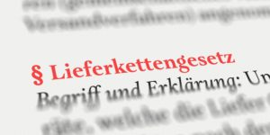 The new German supply chain law comes in 2023 - an overview of the most important points